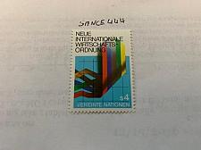 Buy United Nations Wien International economic order 1980 mnh stamps