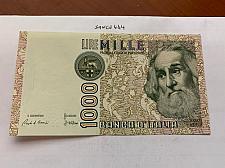 Buy Italy Marco Polo 1000 lire uncirc. banknote 1982 #27