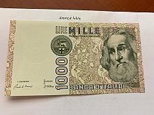 Buy Italy Marco Polo 1000 lire uncirc. banknote 1982 #29