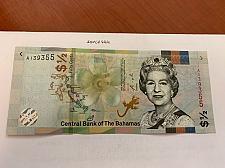 Buy Bahamas 1/2 dollar uncirc. banknote 2000 #2
