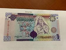 Buy Libya 1 dinara uncirc. banknote 2009 #6