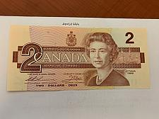 Buy Canada two dollars mint banknote 1986 #4