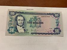 Buy Jamaica 10 dollars uncirc. banknote 1994