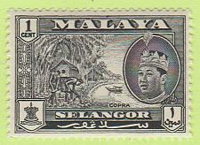 Buy [MAL0114] Malaya (Selangor): Sc. no. 114 (1961-1962) MNH