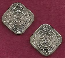 Buy NETHERLANDS 5 Cents 1967 Coin - Kingdom of the Netherlands - 2 Coin Set!