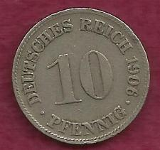 Buy GERMANY 10 Pfennig 1906 Coin