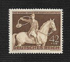 Buy German Hinged Scott #B243 Catalog Value $.25