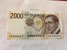 Buy Italy Marconi 2000 lire uncirc. banknote 1990 #4