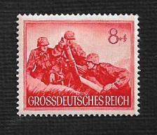 Buy German Hinged Scott #B261 Catalog Value $.25