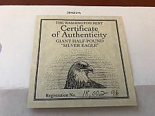 Buy USA United States authenticity card