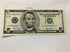 Buy United States Lincoln $5 circulated banknote 2003 #1