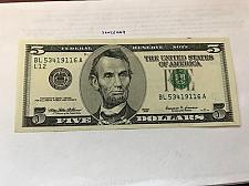Buy United States Lincoln $5 uncirc. banknote 1999 #2