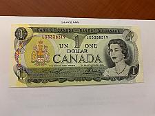 Buy Canada one dollar uncirc. banknote 1973 #4
