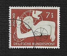 Buy German Used Scott #B348 Catalog Value $2.60