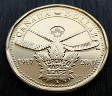 Buy Canada One dollar Toronto Maple Leafs uncirc. coin 2017
