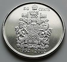 Buy Canada 50 cents Ascension Jubilee uncirc. coin 2002