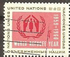 Buy [UN0075] UN NY: Sc. no. 75 (1959) Used