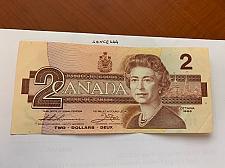 Buy Canada 2 dollars circulated banknote 1986 #1