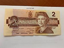 Buy Canada 2 dollars circulated banknote 1986 #2