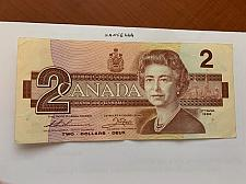 Buy Canada 2 dollars circulated banknote 1986 #3