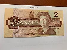 Buy Canada 2 dollars circulated banknote 1986 #4