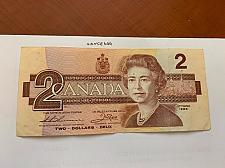 Buy Canada 2 dollars circulated banknote 1986 #5