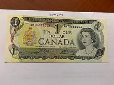 Buy Canada one dollar uncirc. banknote 1973 #6