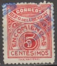 Buy [URQ028] Uruguay: Sc. No. Q28 (1927) Used