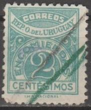 Buy [URQ0026] Uruguay: Sc. No. Q26 (1927) Used