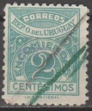 Buy [URQ026] Uruguay: Sc. No. Q26 (1927) Used