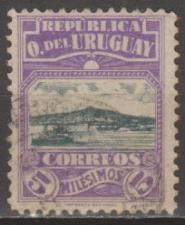 Buy [UR00225] Uruguay: Sc. No. 225 (1919-1920) Used