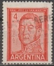 Buy [AR0694] Argentina: Sc. No. 694 (1962) Used