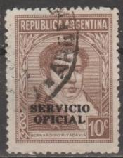 Buy [ARO075] Argentina: Sc. No. O75 (1944-1951) Used