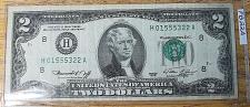 Buy (2) $2 Federal Reserve Notes Lot B22A