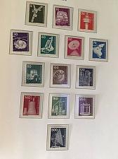 Buy Germany Definitives Technics 14v mnh 1975 stamps