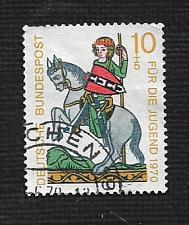 Buy German Used Scott #B455 Catalog Value $.30
