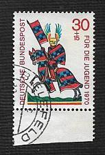 Buy German Used Scott #B457 Catalog Value $.55