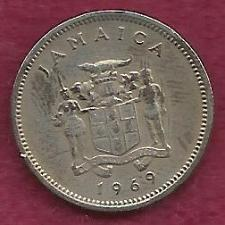 Buy JAMAICA 5 Cent 1969 Coin