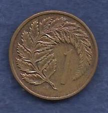 Buy NEW ZEALAND 1 Cent 1982 Coin Queen Elizabeth II