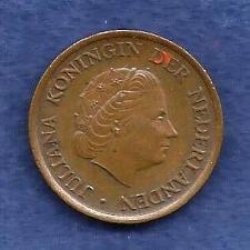 "Buy Netherland 1980 - 5 Cent Bronze Coin ""Queen Juliana"" Circ"