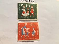 Buy Germany Child welfare 1957 mnh stamps