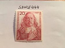 Buy Germany P. Gerhardt theologian 1957 mnh stamps