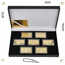 Buy USA Dollars Challenge Golden Bar lot FREE SHIPPING
