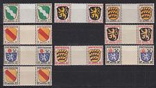Buy GERMANY Alliiert Franz. Zone [Allgemein] MiNr 0001 ZW ex ( **/mnh ) [01]