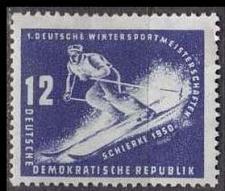 Buy GERMANY DDR [1950] MiNr 0246 ( */mh ) Sport