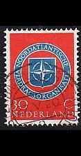 Buy NIEDERLANDE NETHERLANDS [1959] MiNr 0729 ( O/used ) NATO
