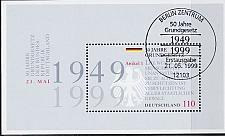Buy GERMANY BUND [1999] MiNr 2050 Block 48 ( Sonder-O/used )