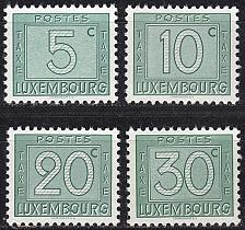 Buy LUXEMBURG LUXEMBOURG [Porto] MiNr 0023,,26 ( **/mnh )