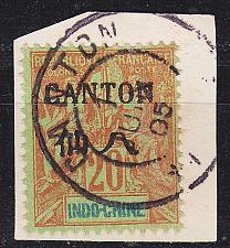 Buy FRANZ. INDOCHINA INDO-CHINE [Kanton] MiNr 0023 I ( BStk )