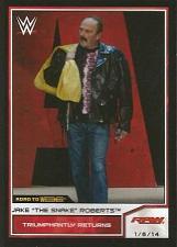 Buy 2014-Topps-WWE-Road-to-Wrestlemania-68-Jake-The-Snake-Roberts